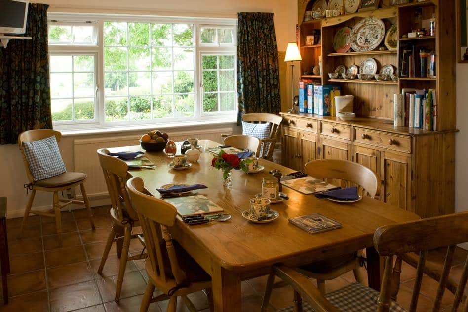 kitchen deverill end bed and breakfast warminster near longleat